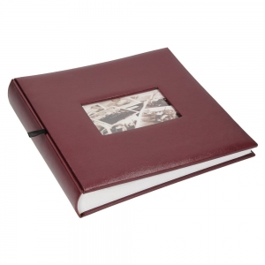 Albums for pasted photos burgundy 100 pages